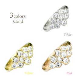 K18ゴールドダイヤリング結婚10周年ダイヤモンドリング1.00ctK18WGK18YGK18PG誕生日記念日指輪プレゼントギフト結婚記念鑑定書05P12Oct15