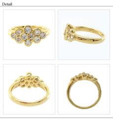 K18ホワイト/イエロー/ピンクゴールドダイヤモンド結婚10周年リング1.00ctK18WGK18YGK18PG天然ダイヤモンド誕生日記念日指輪プレゼントギフト結婚記念鑑定書05P12Oct15