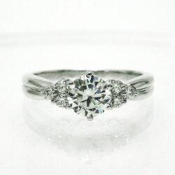 婚約指輪プラチナエンゲージリングダイヤモンドリング