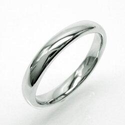 幅3.5mmリングK10ゴールド甲丸地金リング結婚指輪記念日レディース【K10WG】【K10YG】【K10PG】プレゼントマリッジリング誕生日【送料無料】05P09Jan16