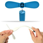 USB扇風機小型ミニUSB扇風機携帯式車内モバイルバッテリーミニファンおまけありスマホOTG