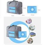 [送料無料1000円ポッキリ]キャリーオンバッグ折りたたみバッグポケッタブルトラベルバックボストンバッグスーツケース固定可大容量32L機内持込可