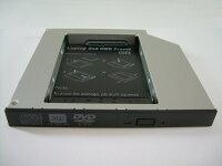 ノートパソコン光学ドライブ用HDDマウンタIDE接続12.7mm厚