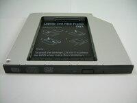 ノートパソコン光学ドライブベイ用HDD・SSDマウンタIDE接続9.5mm厚