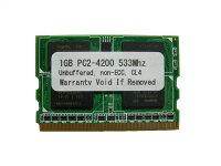 1GBPC2-4200172pinMicroDIMM【相性保証付】