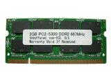2GB PC2-5300 DDR2 667 200pin SODIMM PCメモリー【相性保証付】