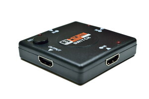 HDMIセレクターHDMI切替器インプットx3アウトプットx1