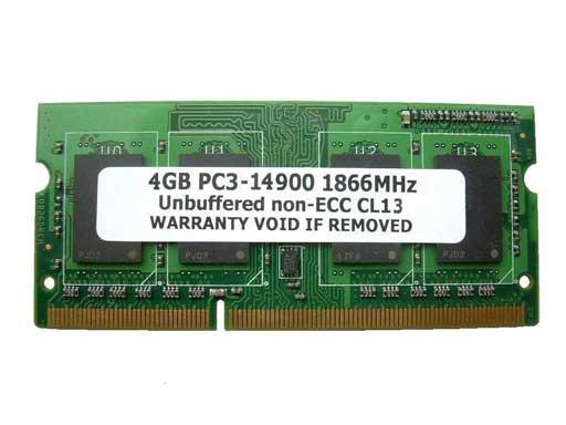 4GB PC3-14900 DDR3 1866 204pin SODIMM (1867MHz) Macメモリー 【相性保証付】