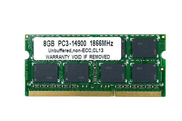 8GB PC3-14900 DDR3 1866 204pin SODIMM (1867MHz) Macメモリー 【相性保証付】