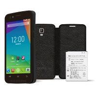 [3G専用]freetelpriori2スペシャルパックFT142A-PR2SP-BKブラックSIMフリースマートフォン