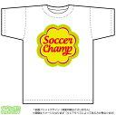サッカーチャンピオンTシャツ(DryT-shirt:白)