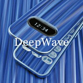 [ディープウェーブ柄-フルセット] 携帯電話専用デコ電 着せ替えシート[decotto] ガラケー&スマートフォン合計400機種以上に対応!液晶保護フィルム付(傷指紋から守る スキンシール) |39| |3c| |de| \e 10P18Jun16