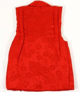 七五三女の子3歳被布コート正絹Sサイズsshi05