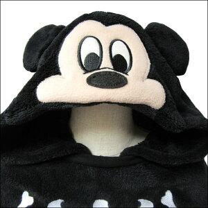 ★ミッキーケープ80cm90cm95cm100cm110cm120cm130cm70ミッキー332109022Disneyディズニーミッキーマウス子供服キッズ女の子なりきりマントポンチョキャラクター黒ブラック