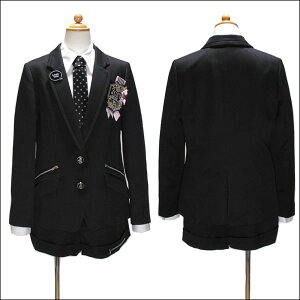 a6768e81d8bf8 ... ミチコロンドンフォーマル卒業式スーツ150cm160cm165cm黒2471-2509MICHIKOLONDONKOSHINO宅配便送料無料  ...