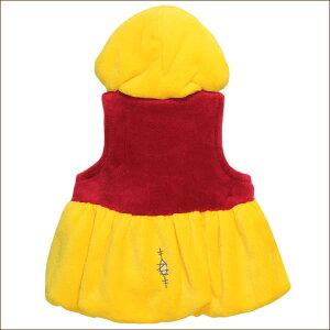 ★くまのプーさんなりきりベスト80cm90cm95cm100cm110cm120cm130cm41イエロー332104042Disneyディズニープーさん子供服ベビー女の子男の子キッズ赤ちゃんキャラクター着ぐるみ黄赤