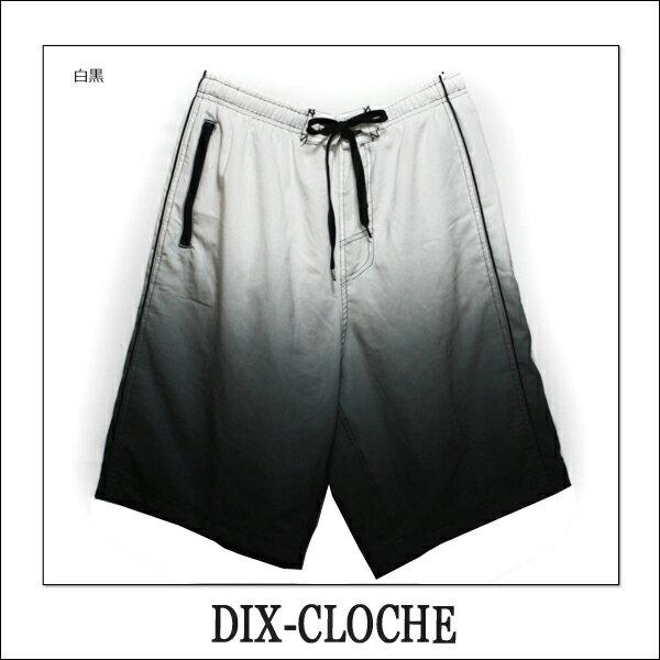 メンズ大きいサイズ水着4710DIX-CLOCHE2WAYSTRETCHサーフパンツ赤白黒灰黒3L4Lメンズ水着ストレッチ素材ストレッチサーフパンツ海パンスイムパンツメンズ水着レッドホワイトブラックグレー