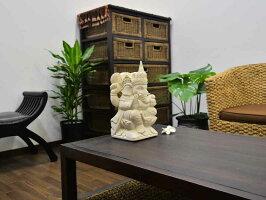 【バリ島の石像】パラスストーンのガネーシャのオブジェ/石像/インドネシア/バリ雑貨/アジアン雑貨/置物