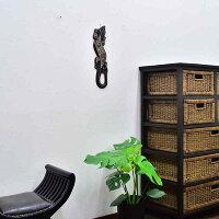 バリ島のトカゲの壁掛け/バリ雑貨/アジアン雑貨/壁飾り/エスニック/インドネシア/トッケイヤモリ