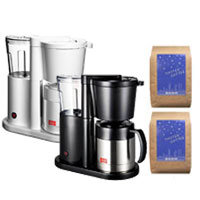 * Melita and sets of NEUE Neue MKM-535 coffee makers and coffee beans 2 types