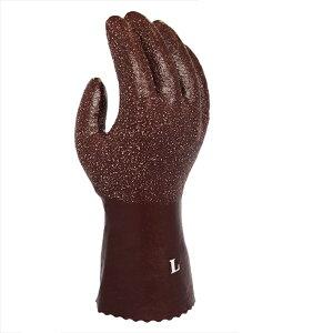 07d9f29c4c910 ソフトラバー Lサイズ 5双セット ゴム防寒手袋 作業用グローブ 天然ゴム手袋