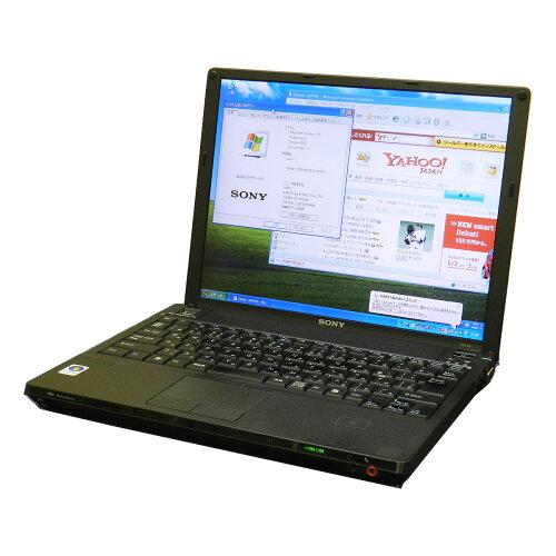 中古パソコン SONY Vaio TypeG VGN-G3ABGSAC無線LAN内蔵モデル Windows7 Pro セットアップ済みKing...