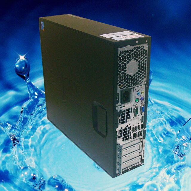 中古パソコン Windows7-Pro搭載PC 安心3ヶ月動作保証付き HP Compaq 6000Pro 19インチワイド液晶モニターセット CPUもメモリも無料アップグレード済み DVDマルチ搭載 KingSoft Office付き 中古デスクトップPC液晶セット◎