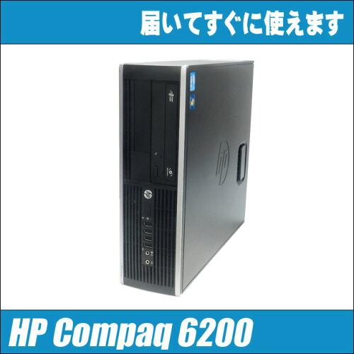 中古パソコン Windows7搭載!HP Compaq 6200 Pro Core i5 2400 3.10GHz MEM:4GB Windows7-...