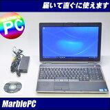 中古パソコン Windows10 高解像度15.6型フルHD!DELL Latitude E6520/Corei7-2620M 2.7GHzNVS-4200M/MEM8GB/HDD320GB/DVDマルチ/WLANWin10PRO-64bit/WPA Office【中古】