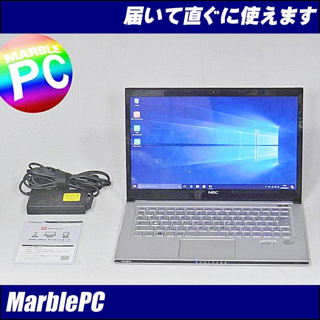 中古パソコン Windows10 ウルトラブックNEC VK20SG-G/Corei7-353…