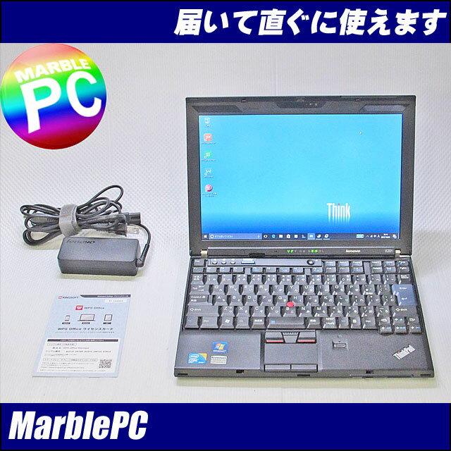 中古パソコン モバイル! SSD128GB Lenovo ThinkPad X201/TYPE…