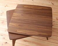 【Lumikki】ルミッキ/長方形(90x60)天然木ウォールナット材北欧デザインこたつテーブルnew!