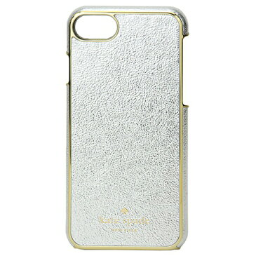 kate spade ケイトスペード 8ARU2121 metallic-7 メタリック iPhone7専用ケース 携帯 スマホケース カバー カラー090/platino レディース