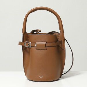 CELINE Celine 187243A4T.04LU/Tan Big Bag Nano Bucket Big Bag Nano Basket Leather Tote Bag Shoulder Bag Bag Ladies
