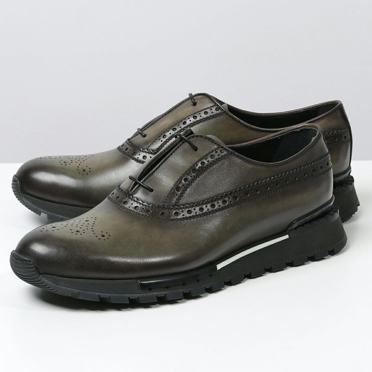 メンズ靴, スニーカー Berluti S3873-021 ICE-BROWN