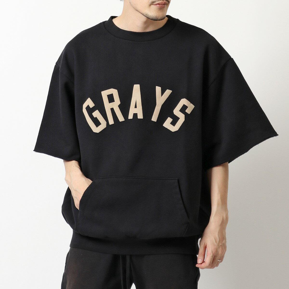 トップス, Tシャツ・カットソー FEAR OF GOD FG50 034FLC GRAYS 34 SLEEVE SWEATSHIRT T Black
