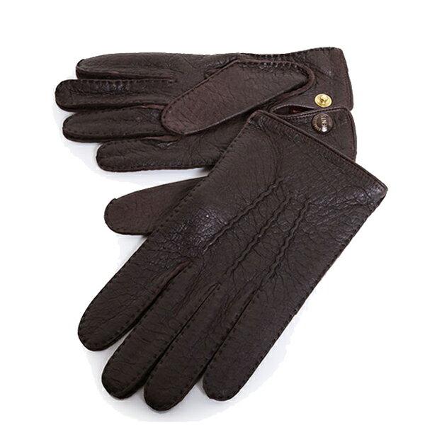 DENTS デンツ メンズ 15-1043 Clifton THE HERITAGE COLLECTION ヘリテージコレクション ペッカリーレザー グローブ 手袋 手ぶくろ アームウェア カラーBark 56160