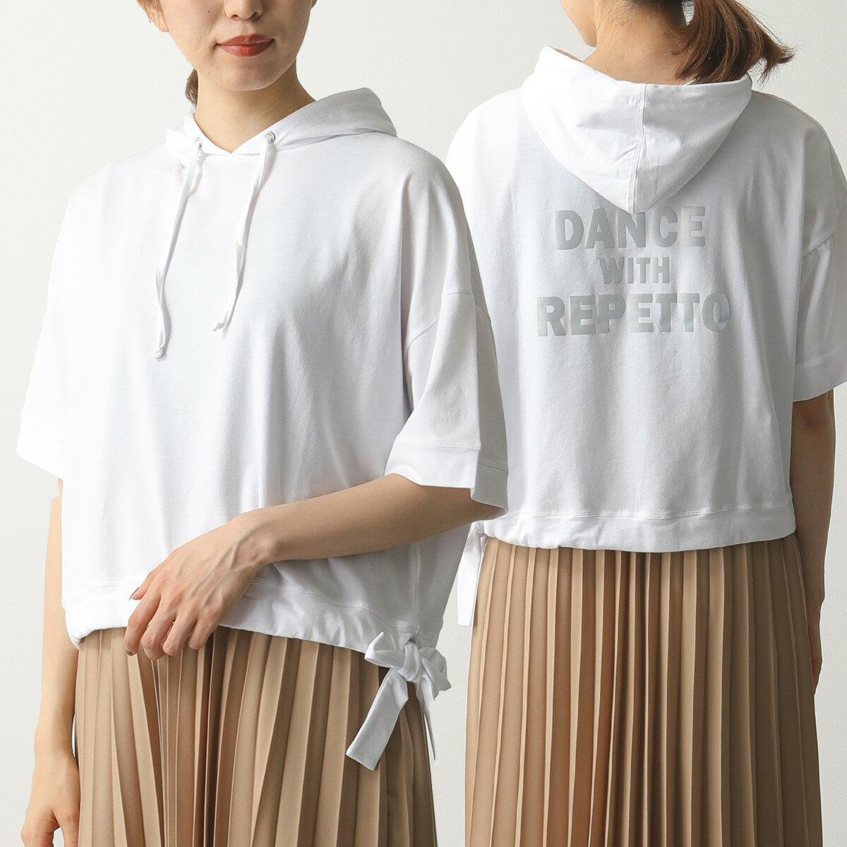 トップス, Tシャツ・カットソー repetto S0480 T 050BLANC