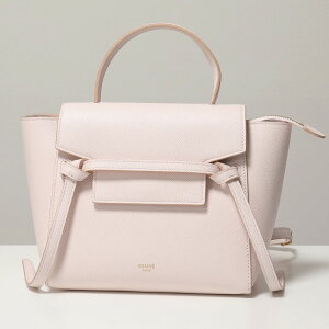 CELINE Celine 189003ZVA.25PQ Nano BELT BAG nano belt bag leather handbag shoulder bag bag PalePink ladies