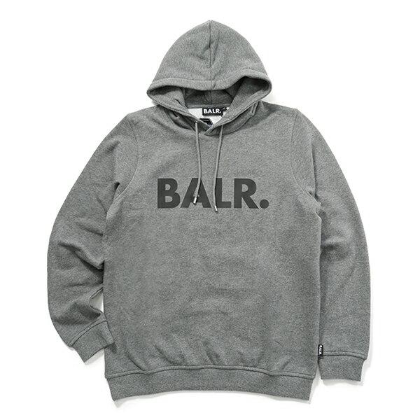 トップス, パーカー BALR. Brand Hoodie Grey