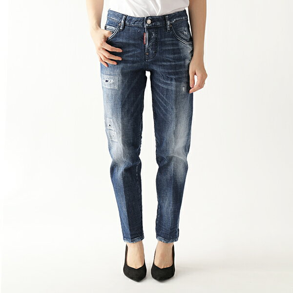 ボトムス, パンツ DSQUARED2 S75LB0119 S30342 Hockney Jeans 470