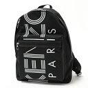 KENZO ケンゾー 5SF213 F24 ナイロン バッグ リュック バックパック 99/BLACK 鞄 メンズ