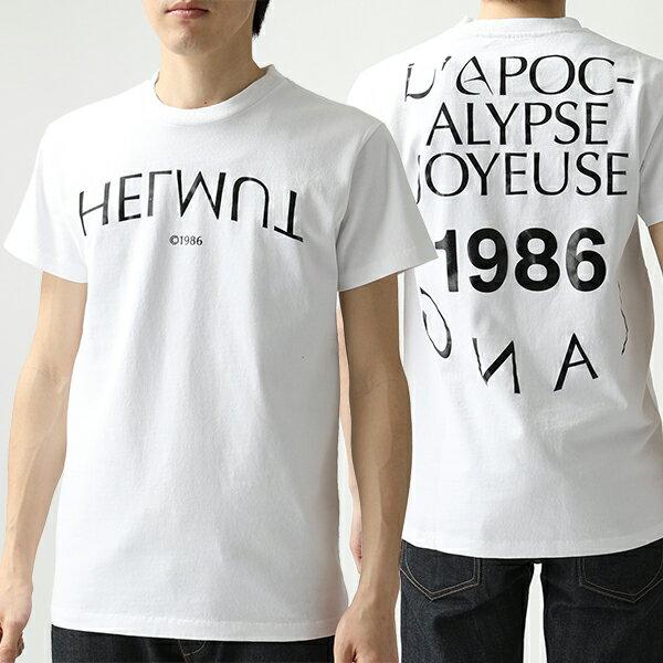 トップス, Tシャツ・カットソー 500OFF41HELMUT LANG 109DM504 T VO2-CHALK-WHITE
