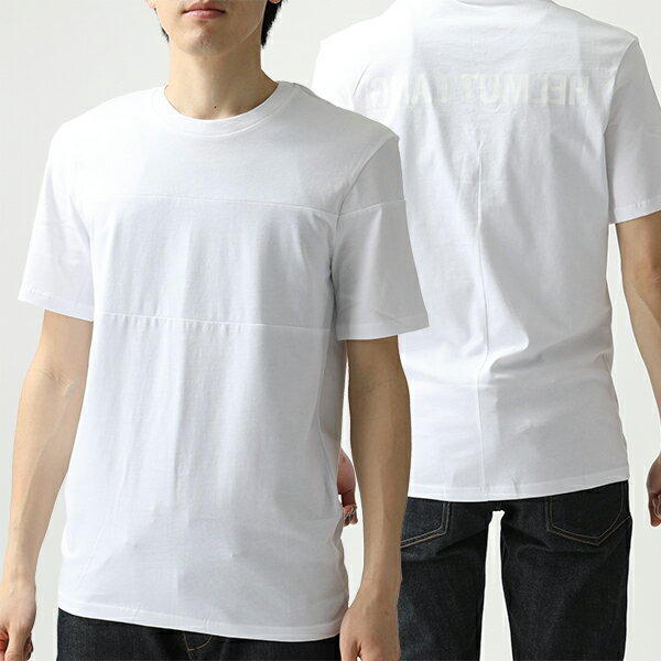 トップス, Tシャツ・カットソー HELMUT LANG I10HM522 BAND SEAM T 100-WHITE