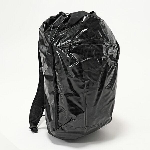 【エントリーでポイント最大7倍!30日21時〜23時59まで】patagonia パタゴニア 49040 BLK LW Black Hole Cinch Pack 20L ライトウェイト バックパック リュック バッグ Black ユニセックス