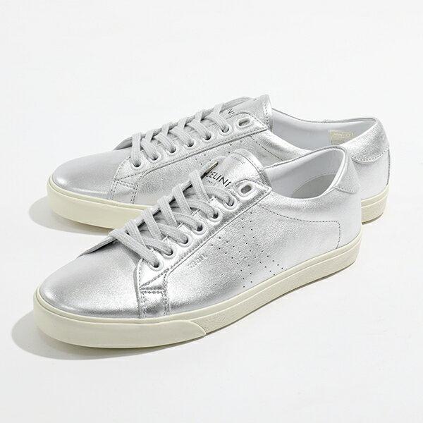 レディース靴, スニーカー CELINE 328063093.36AG TRIOMPHE SILVER