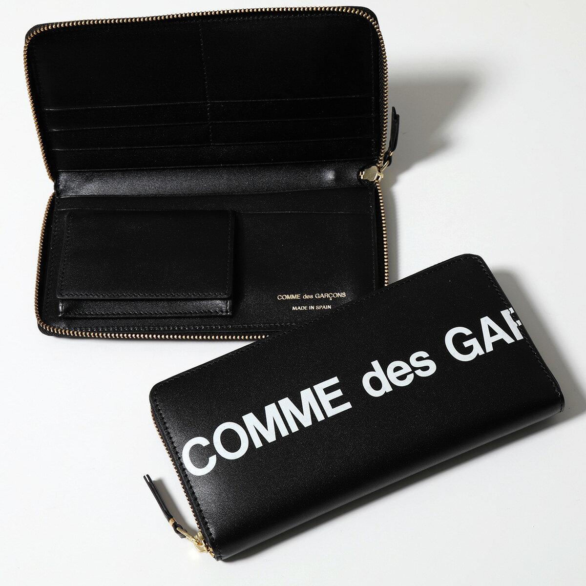 財布・ケース, メンズ財布 COMME des GARCONS SA0110HL HUGE LOGO BLACK