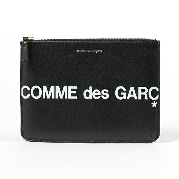 メンズバッグ, クラッチバッグ・セカンドバッグ COMME des GARCONS SA5100HL HUGE LOGO BLACK