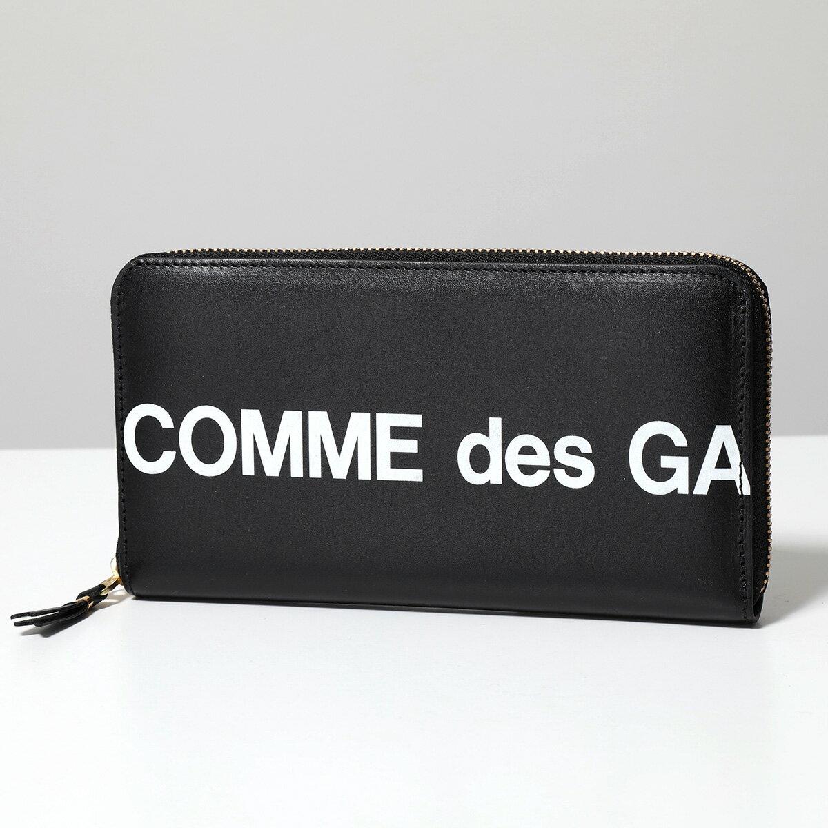 財布・ケース, メンズ財布 COMME des GARCONS SA0111HL HUGE LOGO BLACK 2021ss