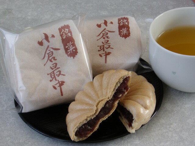 【手作りの和菓子屋】昔ながらの小倉最中(もなか)1個【marutaya】【RCP】